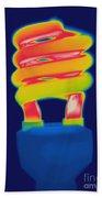 Energy Efficient Fluorescent Light Bath Towel