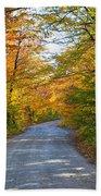 Fall In New England Bath Towel