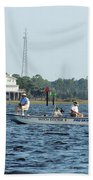 Fishing The Flats Bath Towel