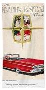Ford Avertisement, 1959 Bath Towel