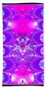 Fractal 16 Purple Passion Bath Towel