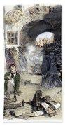 France: Paris Riot, 1851 Hand Towel