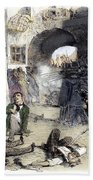 France: Paris Riot, 1851 Bath Towel