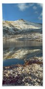 Geissler Mountain And Linkins Lake Hand Towel