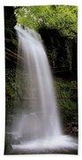 Glencar Waterfall, County Leitrim Bath Towel