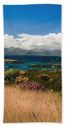 Gorse And Rhododendron Bushes Bath Towel