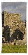 Hore Abbey, Cashel, County Tipperary Bath Towel