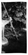 Hupa Fisherman, C1923 Bath Towel