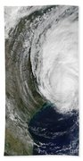 Hurricane Lili Bath Towel