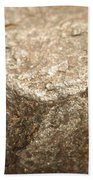 Iron-nickel Meteorite Bath Towel