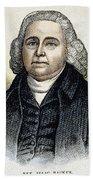 Isaac Backus (1724-1806) Bath Towel