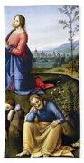 Jesus: Agony In The Garden Hand Towel