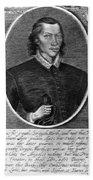 John Donne (1573-1631) Bath Towel