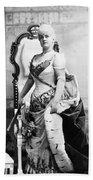 Lillian Russell (1861-1922) Bath Towel