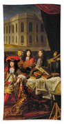 Louis Xiv (1638-1715) Bath Towel