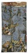 New World: Voyage, 1592 Bath Towel
