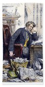 Newspaper Editor, 1880 Bath Towel