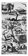 North America: Fauna Bath Towel
