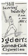 Ogdens Cigarettes, 1897 Bath Towel