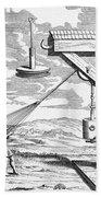 Otto Von Guericke, 1672 Bath Towel