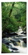 Owengarriff River, Killarney National Bath Towel