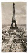 Paris: Eiffel Tower, 1900 Hand Towel