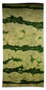 Peripheral Streak Image Of Watermelon Bath Towel