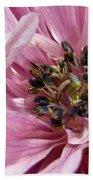 Pink Anemone From The St Brigid Mix Bath Towel