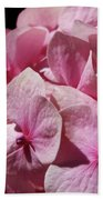 Pink Hydrangea Bath Towel