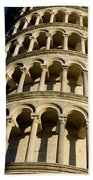 Pisa Tower Bath Towel