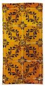 Portuguese Tiles Bath Towel