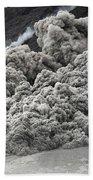 Pyroclastic Flow Descending The Flank Bath Towel