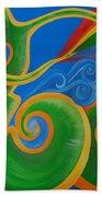 Rainbow Healing For Family Bath Towel