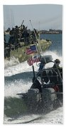 Riverine Command Boats And Security Bath Towel