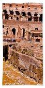 Roman Coliseum  Bath Towel