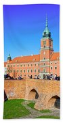 Royal Castle In Warsaw Bath Towel