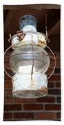 Rusty Lantern Bath Towel