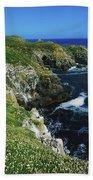Saltee Islands, Co Wexford, Ireland Bath Towel