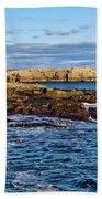 Schoodic Point Acadia National Park Bath Towel