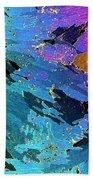 Sea Ice Core One Millimeter Thick Bath Towel