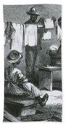 Slaves In Union Camp Bath Towel