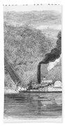 South: Cotton, 1861 Bath Towel