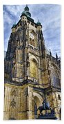 St Vitus Cathedral - Prague Bath Towel