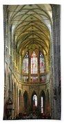 St. Vitus Cathedral Bath Towel