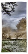 Stormy Seas Bath Towel