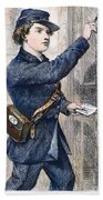 Telegraph Messenger, 1869 Bath Towel