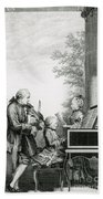 The Mozart Family On Tour, 1763 Hand Towel