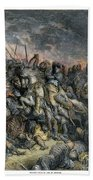 Third Crusade, 1191 Bath Towel