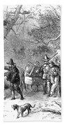 Thomas Hooker (1586-1647) Bath Towel