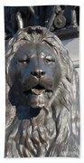 Trafalgar Square Lion Bath Towel